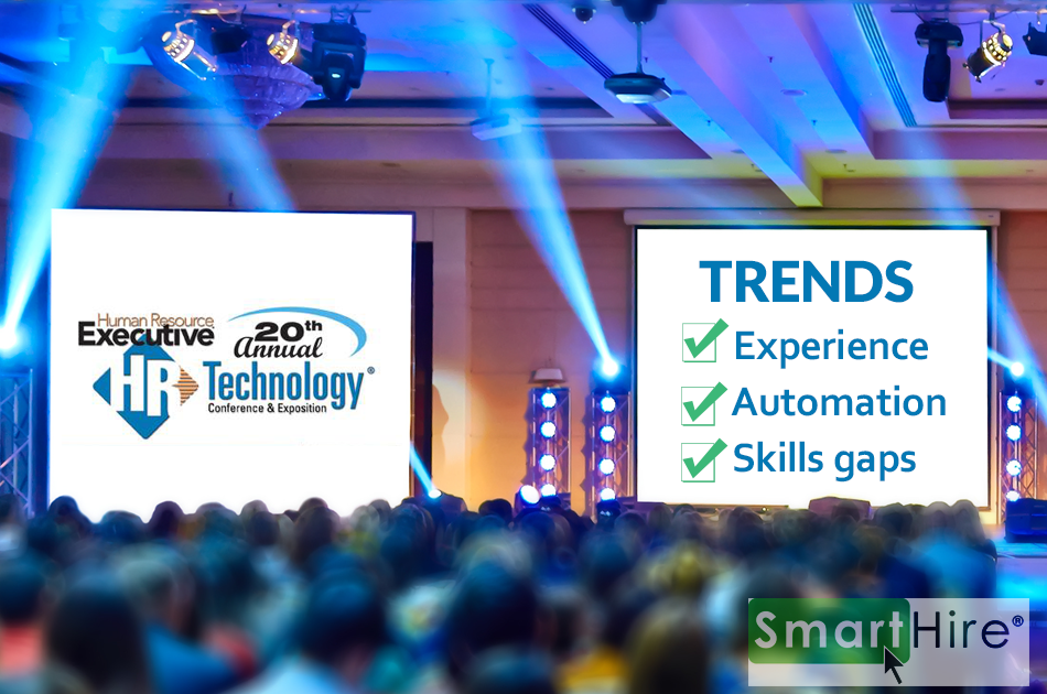 SmartHire's Business Lead Attends HR Tech